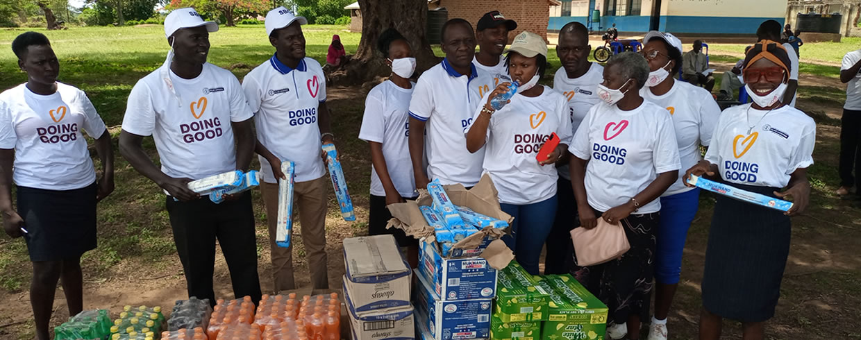Good Deeds day was hosted in Lira